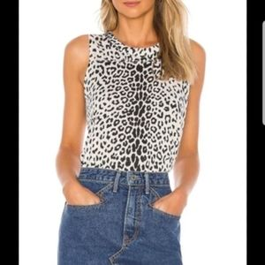 Chaser Leopard Print Tank NWT